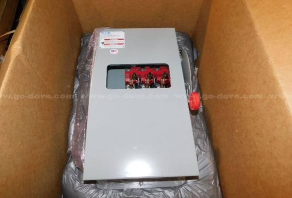 Safety Switch,Easton, 600V, 100A, Nema, 12 Enclosure