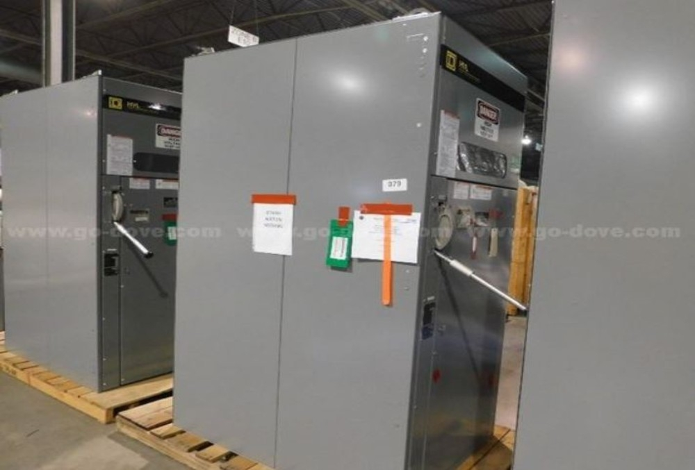 Switchgear, Square D HVL Load Current Interrupter Switch, 1200A