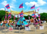 Carnival Ride Wind Jammer Swing
