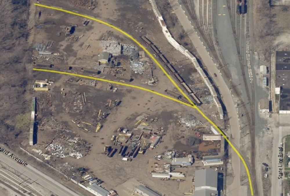 aerial 5 – rail line