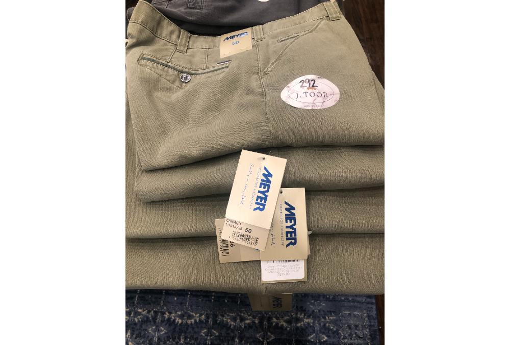 292 – MEYER CHICAGO SUMMER CANVAS COTTON CHINO OLIVE (5CT)