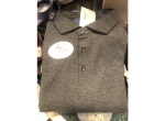 62 – CHARLES LONG SLEEVE POLO GRAY (1CT)