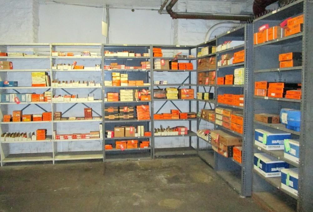 Sample bearings inventory