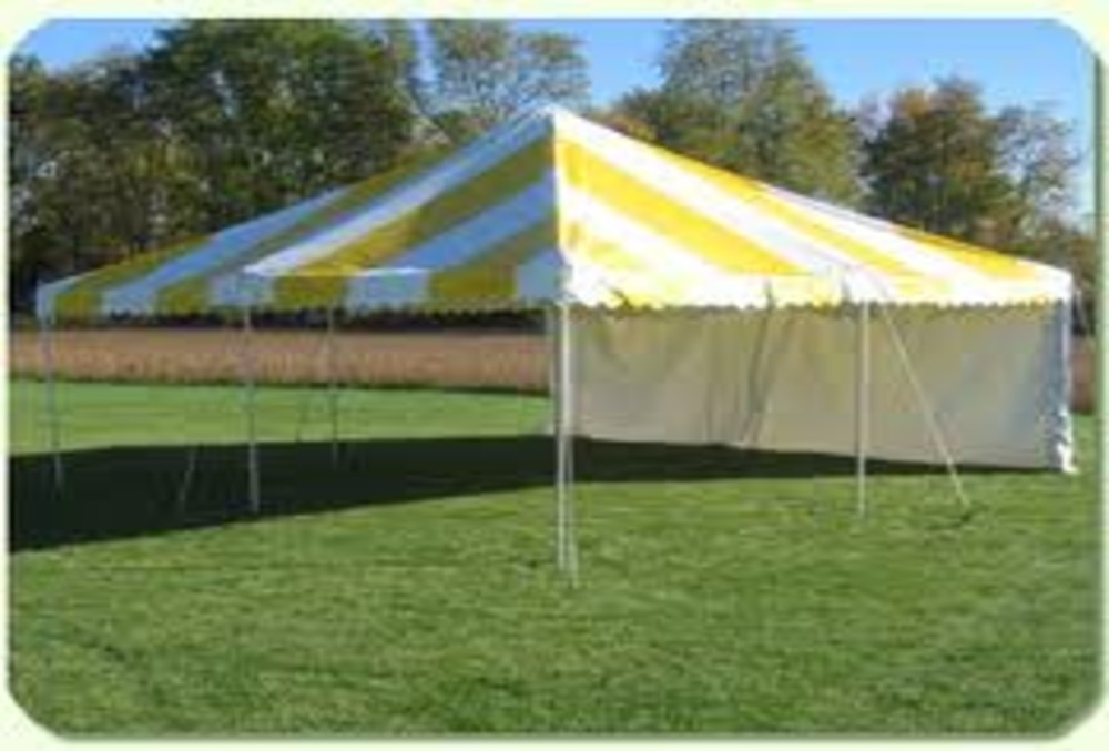 Canopy Tent Yellow